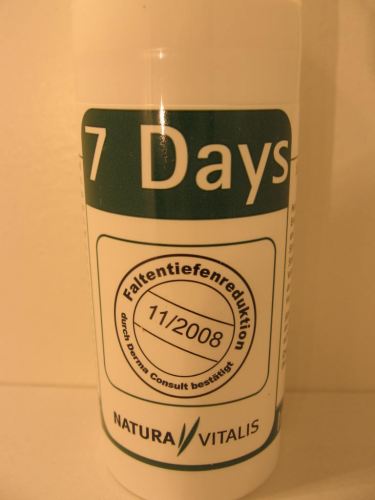 NATURA VITALIS 7 DAYS ANTI-FALTEN-CREME 50ML