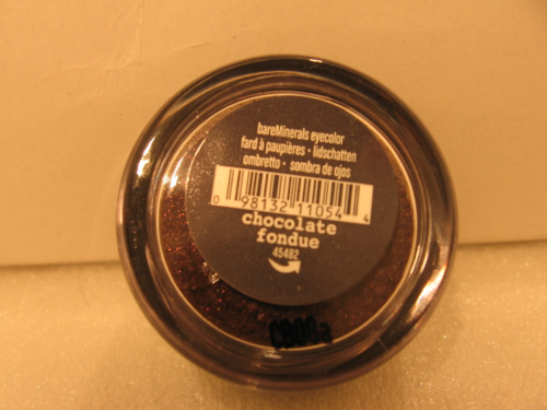 BARE MINERALS EYECOLOR CHOCOLATE FONDUE
