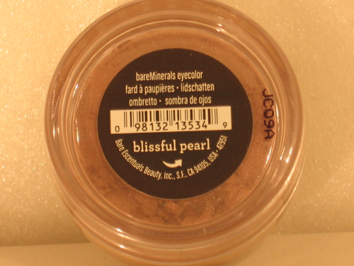 BARE MINERALS LIDSCHATTEN BLISSFUL PEARL