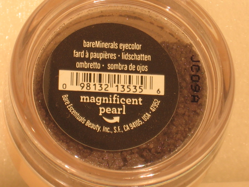 BARE MINERALS LIDSCHATTEN MAGNIFICENT PEARL