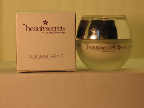BEAUTY SECRETS BY BIRGIT SCHROWANGE AUGENCREME