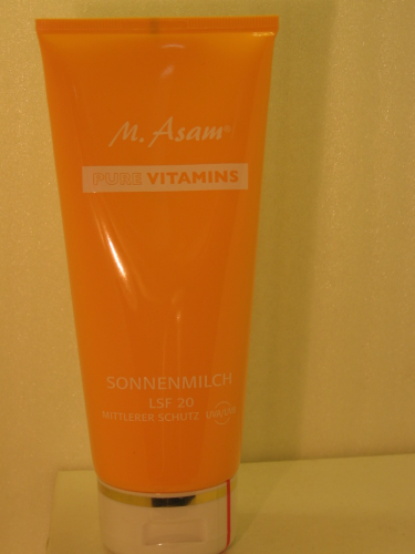 M. ASAM PURE VITAMIN SONNENMILCH 200ML