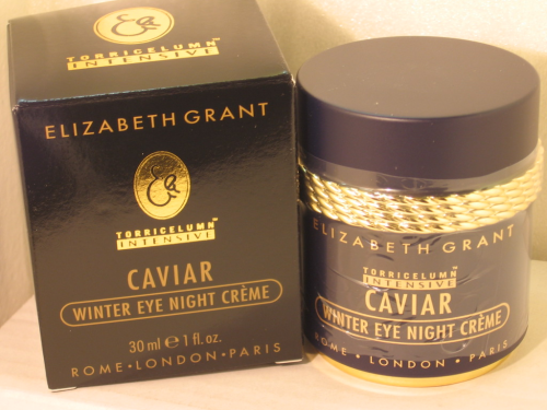 ELIZABETH GRANT CAVIAR WINTER EYE NIGHT CREAM 30ML