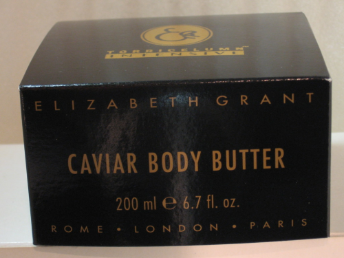 ELIZABETH GRANT CAVIAR BODY BUTTER 200ML