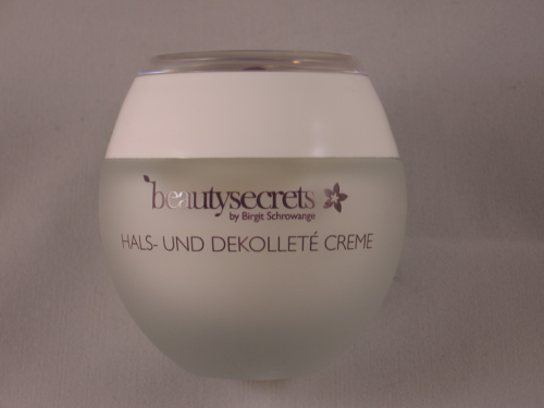 BEAUTY SECRETS BY BIRGIT SCHROWANGE HALS-UND DEKOLLETÈ CREME