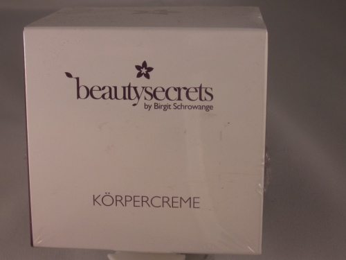 BEAUTY SECRETS BY BIRGIT SCHROWANGE KÖRPERCREME 200ML