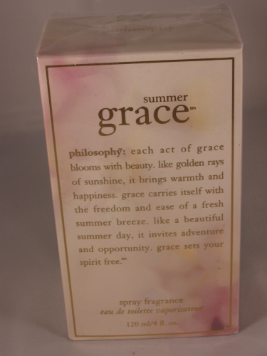 PHILOSOPHY SUMMER GRACE FRAGRANCE EDT XXL 120ML