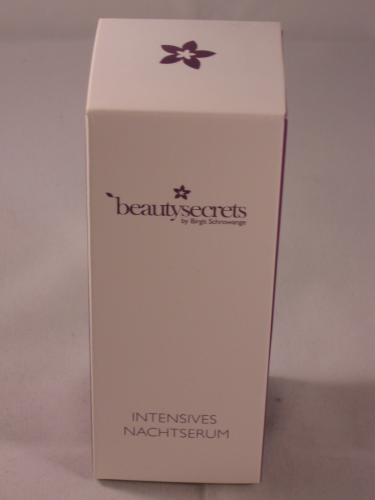 BEAUTY SECRETS BY BIRGIT SCHROWANGE INTENSIVES NACHTSERUM