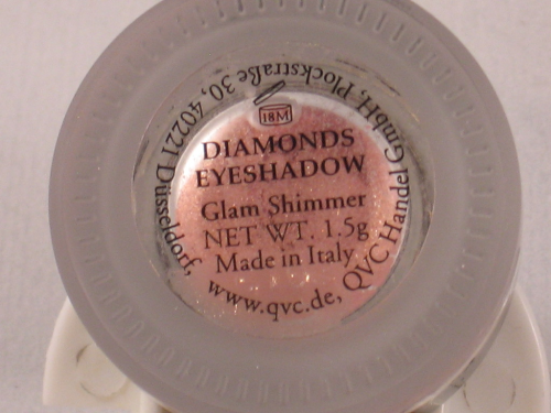 POMPÖÖS BY HARALD GLÖCKLER DIAMONDS EYESHADOW GLAM SHIMMER APRICOT