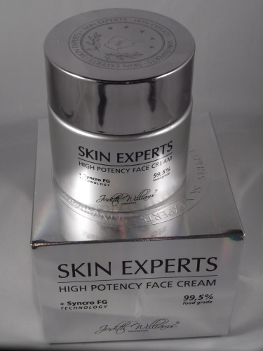 JUDITH WILLIAMS SKIN EXPERTS HIGH POTENCY FACECREAM 100ML