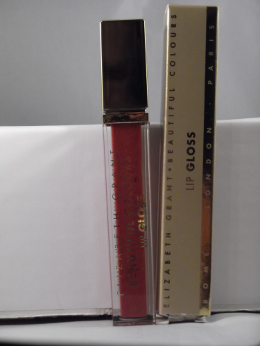 ELIZABETH GRANT BEAUTYFUL COLORS LIPGLOSS RED