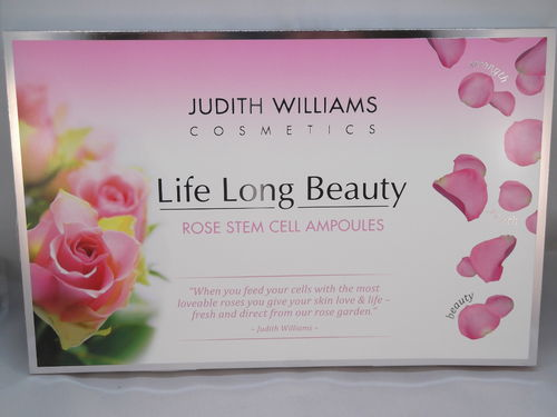 Judith Williams Life Long Beauty Rose Stem Cell Ampoules