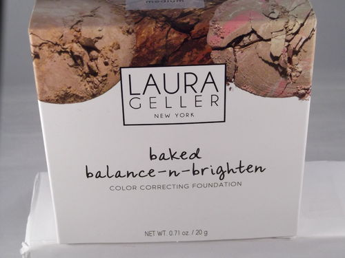 Laura Geller Deluxe Baked Balance-n-brighten medium in XXL Grösse 20 g