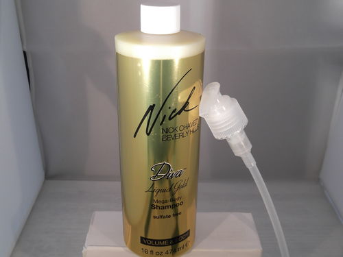 Nick Chavez Diva Liquid Gold Mega Body Shampoo XXL 474 ml