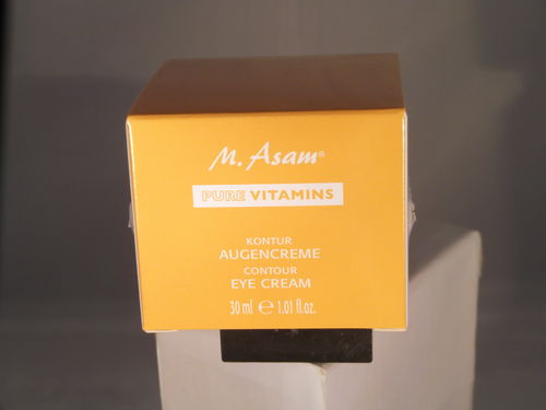 M.Asam Pure Vitamins Kontur Augencreme 30 ml